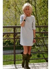 SWEET - Sweatshirt mini Dress with 1/2 sleeve