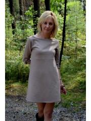 sukienka SWEET - kolor MOKKA