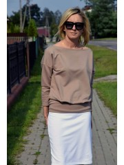 bluzka MARTHA - kolor MOKKA