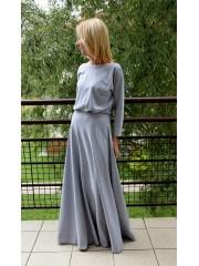sukienka KORNELIA - kolor SZARY