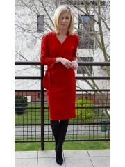 RAIA - Kleid mit Gürtel - fur Damen