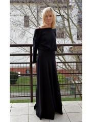 sukienka KORNELIA - kolor CZARNY