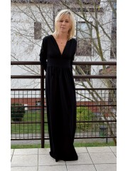 VESPER - Long Strickkleid