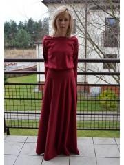 sukienka KORNELIA - kolor BORDO