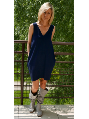 sukienka MIRANDA - kolor GRANAT