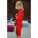 sukienka KATE - kolor CZERWONY