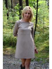 sukienka EMILLY - kolor MOKKA