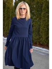 NEL - cotton dress - navy blue