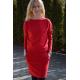 sukienka MESA - kolor CZERWONY