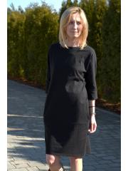 sukienka ROXI - kolor CZARNY