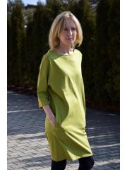 sukienka ROXI - kolor oliwkowy