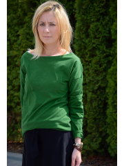 LONS - Knitted LONGSLEEVE, - green