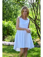 sukienka TINA - kolor BIAŁY