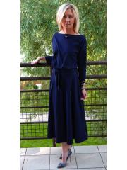 sukienka ADELA - kolor GRANAT
