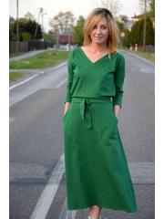 sukienka CELINA - kolor ZIELONY