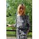 BROOKE - sukienka w kratę / szachownicę