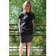 sukienka IRON - kolor GRAFITOWY
