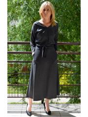 sukienka CELINA - kolor GRAFIT