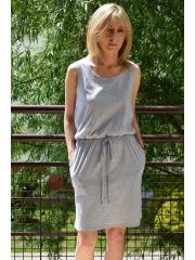 sukienka SALLY - kolor SZARY