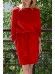 sukienka BROOKE - kolor  CZERWONY