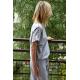sukienka GREES - kolor SZARY