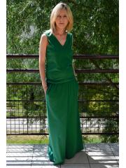 sukienka MILA - kolor ZIELONA