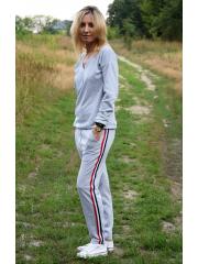 spodnie KAREN - kolor SZARY