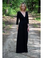 sukienka SARA - kolor CZARNY
