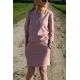 sukienka XENA - kolor BRUDNY RÓŻ