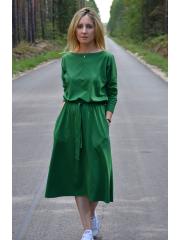 sukienka ROSE - kolor ZIELONY