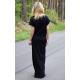 sukienka GREES - kolor CZARNY