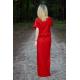 sukienka GREES - kolor CZERWONY