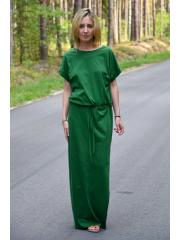 sukienka GREES - kolor ZIELONY