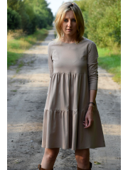 BLUM - midi dress with frills