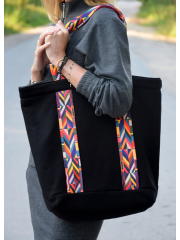 torba ROSA - kolor CZARNY