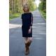 sukienka PATH - kolor GRANATOWY