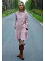 sukienka TAYLOR - kolor BRUDNY RÓŻ