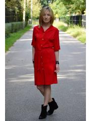 sukienka ADA - kolor CZERWONY