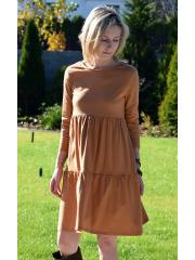 sukienka BLUM - kolor KARMEL