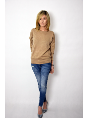 ALLA - sweater blouse - beige