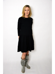 sukienka CINDY - kolor CZARNY