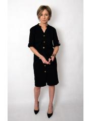 ADA - cotton dress with belt