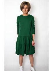 sukienka CINDY - kolor ZIELONY