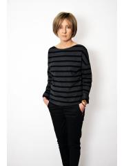 LONS - cotton women LONGSLEEVE - stripes