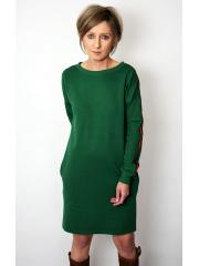sukienka PATH - kolor ZIELONY