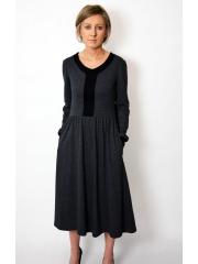 PURO - cotton midi dress