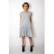 GINA - mini dress with a frill