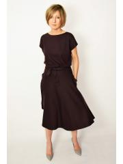sukienka LUCY - kolor CZEKOLADA