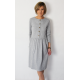 ALISON - midi dress with buttons