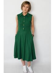 GABI - polo dress - green